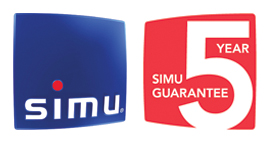 SIMU 5 Year Warranty